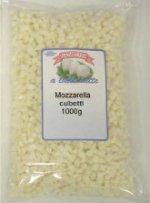 Mozzarella cubetto latte vaccino Italia