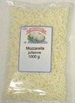 Mozzarella julienne latte vaccino Italia